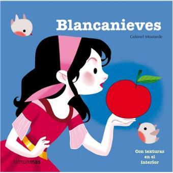 Blancanieves. Con texturas en el interior