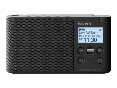 Radio Portátil Sony XDR-S41DW FM DAB+ Negro