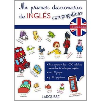 Mi primer diccionario de inglés con pegatinas