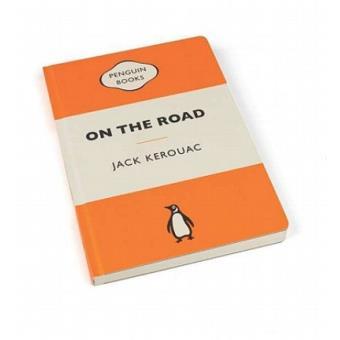On the Road Penguin Libreta naranja