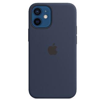 Funda de silicona con MagSafe Apple Azul marino intenso para el iPhone 12 mini