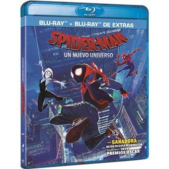Spider man: Un nuevo universo - Blu-Ray + Blu-Ray Extras