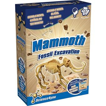 Science4you: Mammoth. fossil Excavation