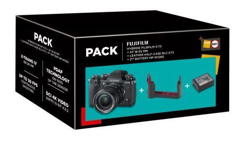 Cámara EVIL Fujifilm X-T3 + 18-55 mm XF Pack