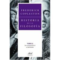 Historia de la Filosofía 2 De la escolástica al empirismo