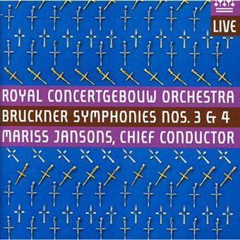 Bruckner - Symphonie Nos. 3 & 4