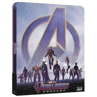 Vengadores: Endgame - Steelbook Blu-Ray