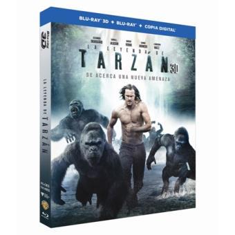 La leyenda de Tarzán - Blu-Ray + 3D