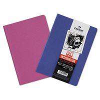 Pack 2 cuadernos de dibujo Canson Inspiration A5 Fino 96 g 30 h ultramar-violeta