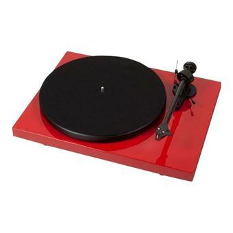 Tocadiscos Pro-Ject Debut Carbon DC Rojo