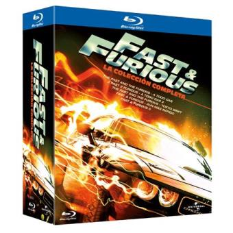 Pack A todo gas - Fast and Furious. Saga completa - Blu-Ray