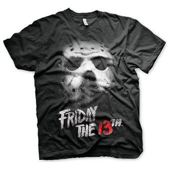 Camiseta Viernes 13 Negro Talla S