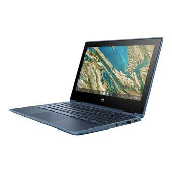 Convertible 2 en 1 HP Chromebook x360 11 G3 EE 11,6'' Azul