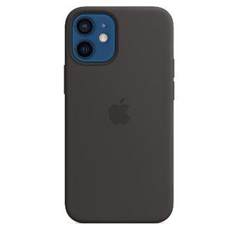 Funda de silicona con MagSafe Apple Negro para  para iPhone 12 mini