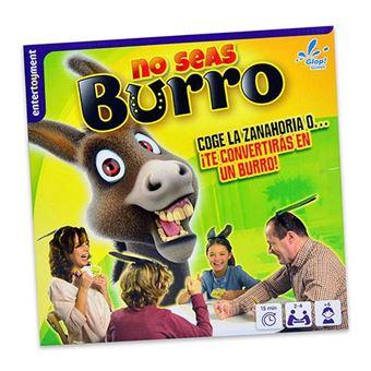 No seas burro