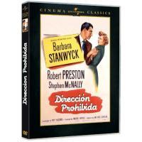Dirección prohibida - DVD