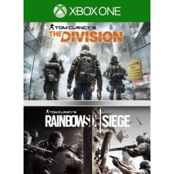 Pack Rainbow Six Siege + The Division Xbox One