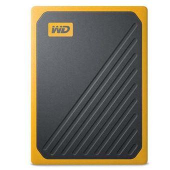 Disco duro externo WD My Passport Go 500GB Negro/Amarillo