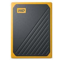 Disco duro externo WD My Passtport Go 500GB Negro/Amarillo