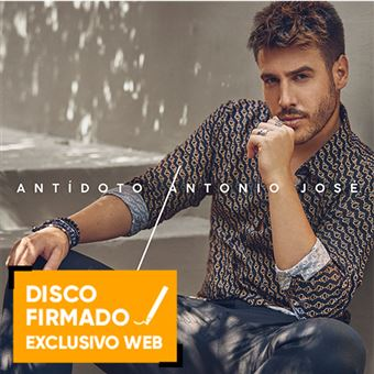 Antídoto - Vinilo - Disco firmado