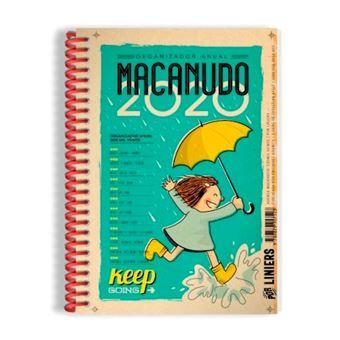 Agenda 2020 Macanudo anilla lluvia