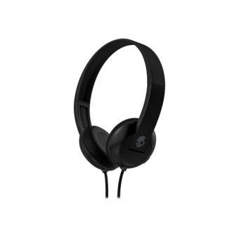 Skullcandy Uproar - Auriculares de superficie con tecnología de control de reproducción TapTech negro/gris