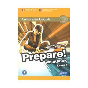Cambridge English: Prepare! Workbook with Audio. Level 1