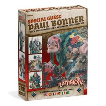 Zombicide Black Plague. Special Guest: Paul Bonner