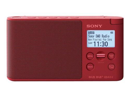 Radio portátil Sony  XDR-S41DW FM DAB+ Rojo