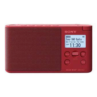 Radio Portátil Sony XDR-S41D FM/DAB+ Rojo