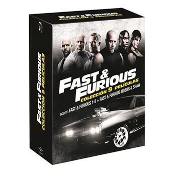 Pack A todo gas - Fast and Furious 1-8 + Hobbs and Shaw - Blu-Ray