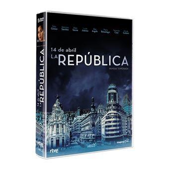 14 de Abril. La República  Temporada 1 - DVD
