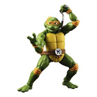 Figura Tortugas Ninja Michelangelo (15cm)