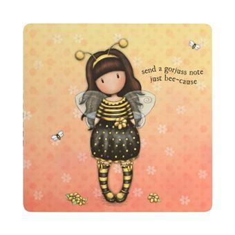 Set de notas Gorjuss Furry - Bee Loved