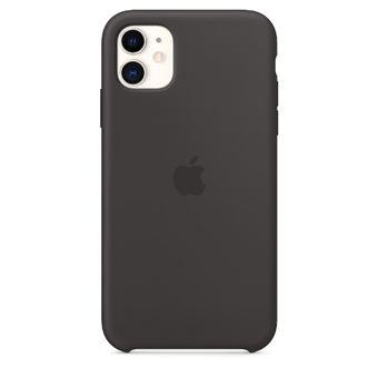 Funda de silicona Apple Negro para iPhone 11