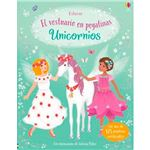 Unicornios-el vestuario en pegatina