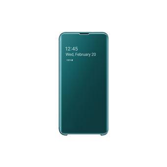 Funda Samsung Clear View para Galaxy S10e Verde