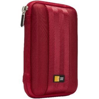 Case Logic QHDC101R color rojo Funda para disco duro portátil