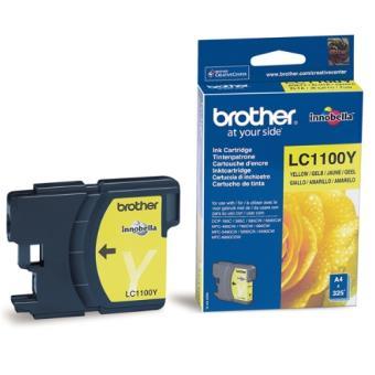 Brother LC1100YBP Tinta amarilla