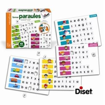 Juguete: Formar paraules (Catalán)