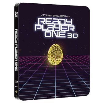 Ready Player One - Steelbook Blu-Ray + 3D