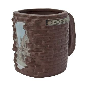 Taza 3D Harry Potter - Callejón Diagon