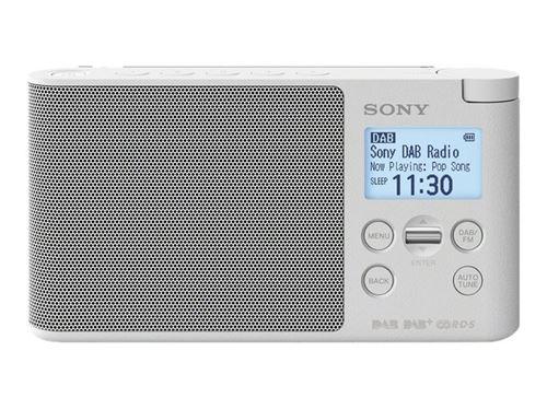 Radio Portátil Sony XDR-S41DW FM DAB+ Blanco