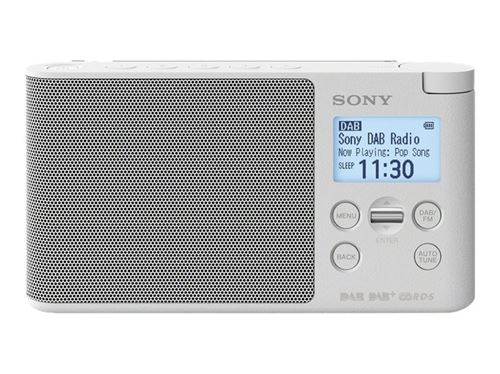 Radio Portátil Sony XDR-S41D FM/DAB+ Blanco