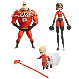 Figuras Familia Increíble - Varios modelos