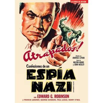 Confesiones de un espía nazi (V.O.S.) - DVD
