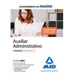 Aux administrativo madrid tema 2