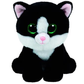 Peluche Ty Beanie Babies Gato Ava (15 cm)