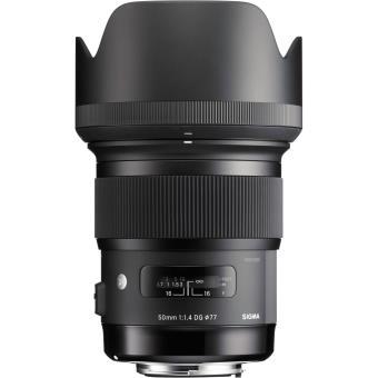 Objetivo Sigma 50 mm F1.4 DG HSM ART para Canon