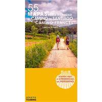 Camino Francés - 55 Mapas para realizar el Camino de Santiago